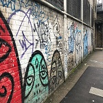 Graffiti Removal SE14 New Cross